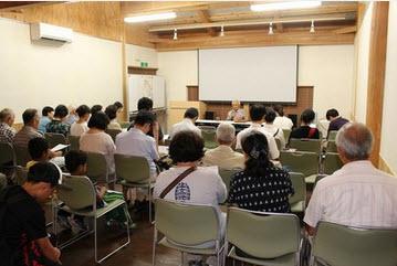 語り部講演(提供:満蒙開拓平和記念館)